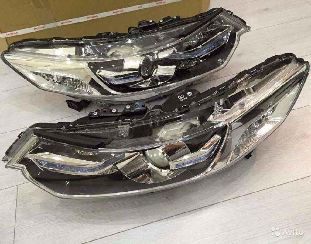 Фары биксенон Honda Accord 8 в Москве. Фото 1