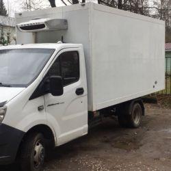 Перевозка грузов реф -20 Газель Некст 4,20 будка
