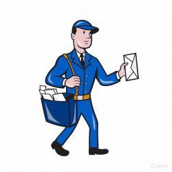 Почтальон, расклейщик, промоутер