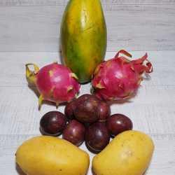 Экзотические фрукты из Таиланда сет 45