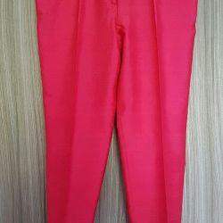 Роскошные шелковые брюки Erreuno