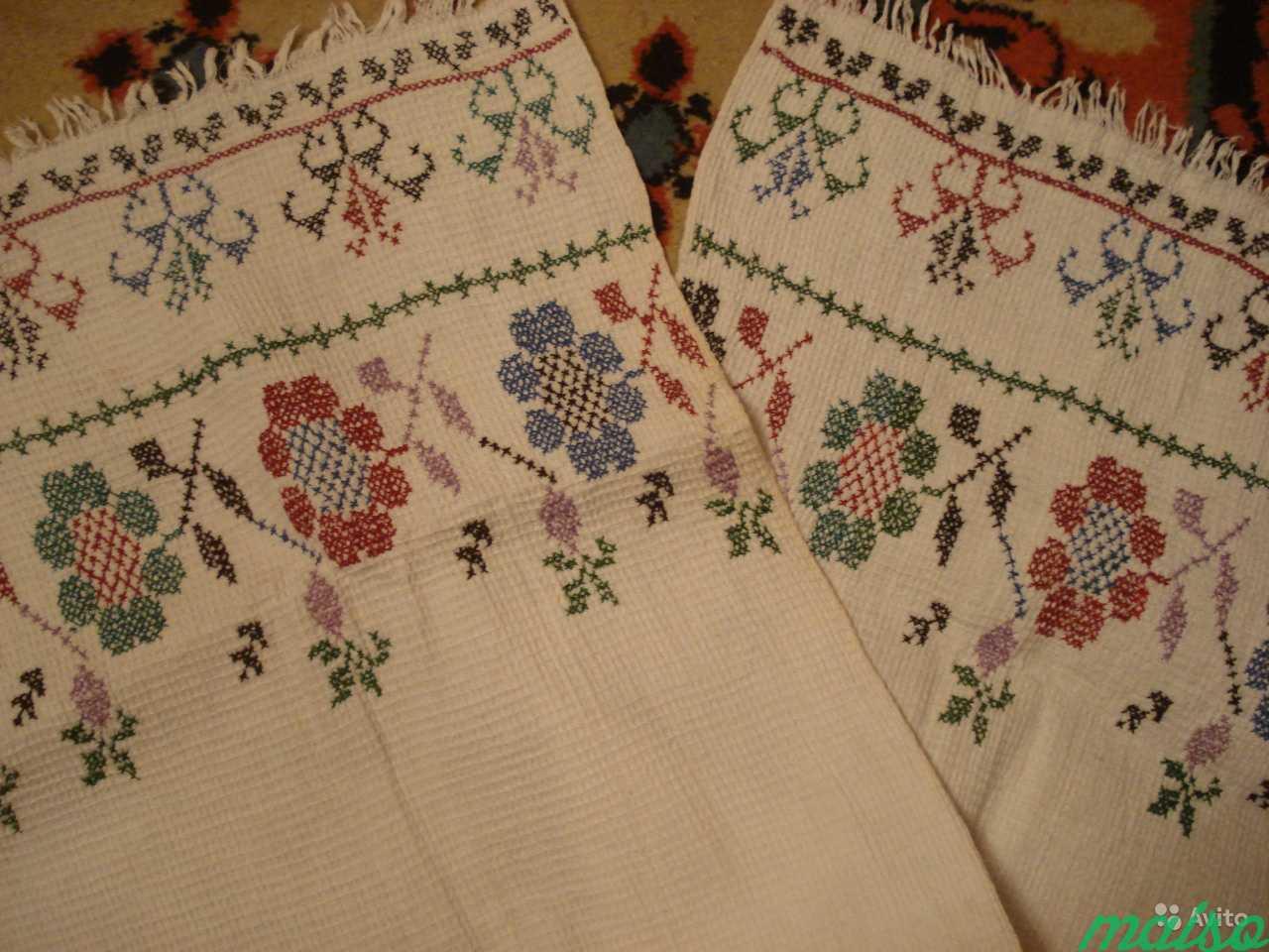 Старинные полотенца в Москве. Фото 1