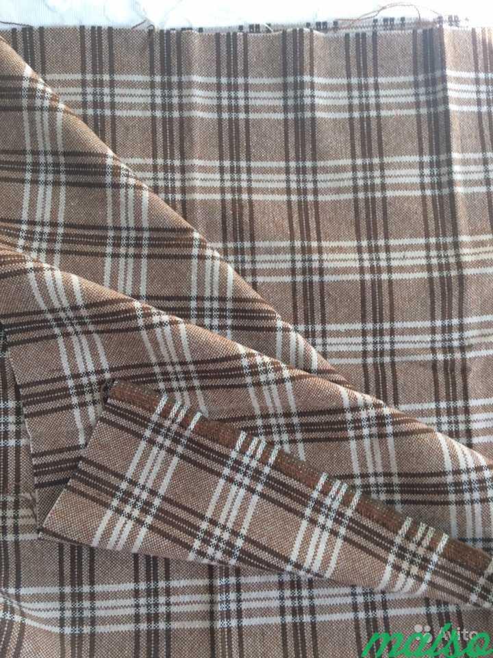 Ткань костюмная шерсть (отрез) в Москве. Фото 2