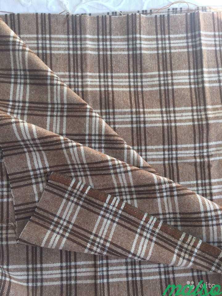 Ткань костюмная шерсть (отрез) в Москве. Фото 3
