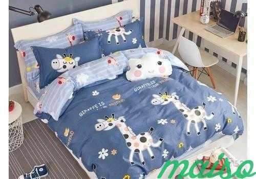 Детское постельное белье из сатина 1,5-сп в Москве. Фото 7