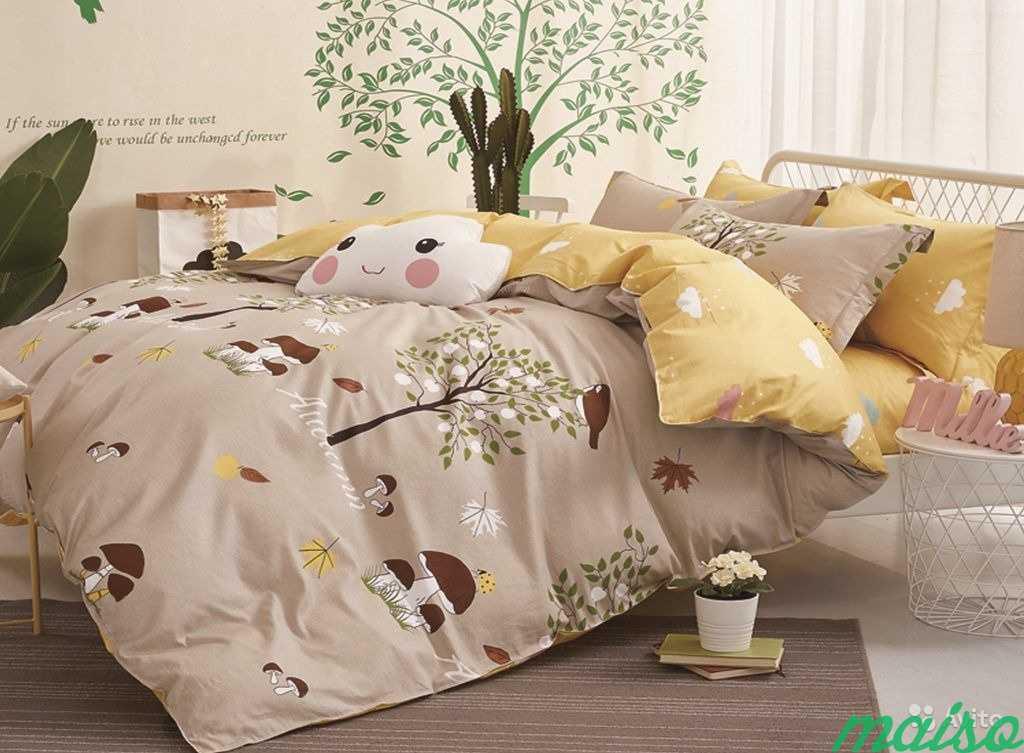 Детское постельное белье из сатина 1,5-сп в Москве. Фото 6