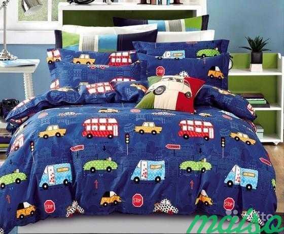 Детское постельное белье из сатина 1,5-сп в Москве. Фото 1
