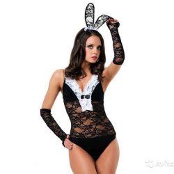 Игровой ролевой сексуальный костюм зайчика