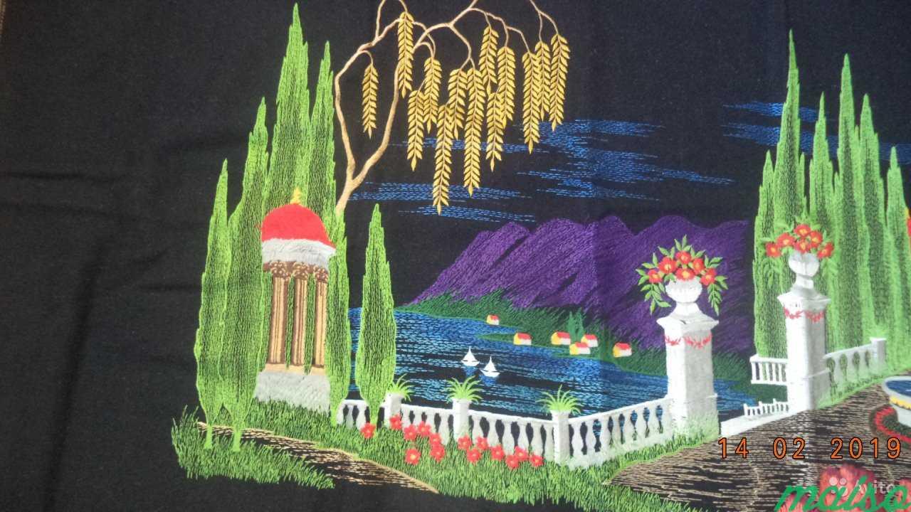 Ковер-картина вышивка маракеш 60 Г. новый в Москве. Фото 3