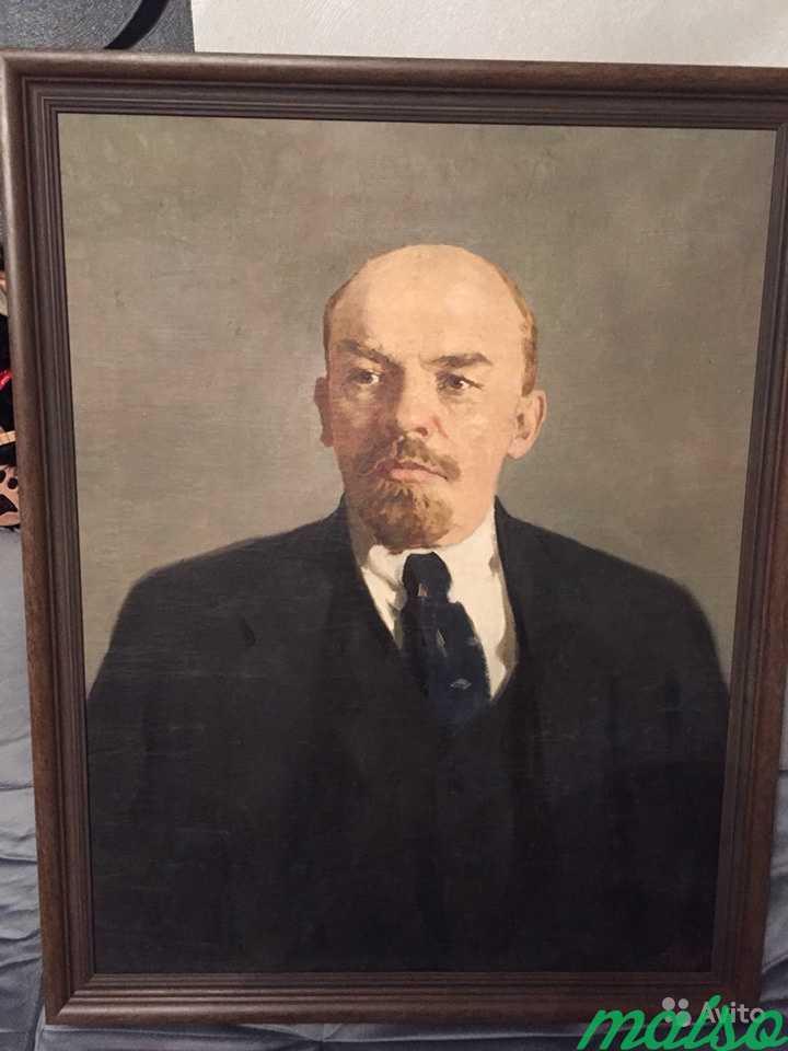 Картина Ленин масло холст в Москве. Фото 1