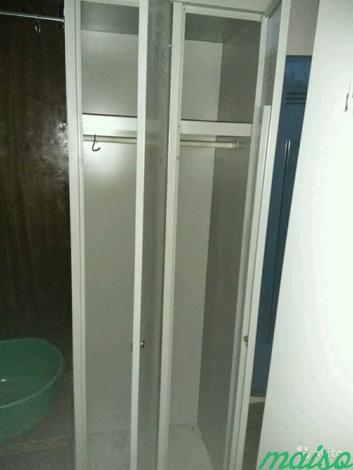 Шкаф металлический для одежды в Москве. Фото 1