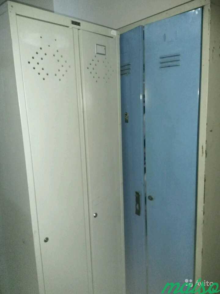 Шкаф металлический для одежды в Москве. Фото 3