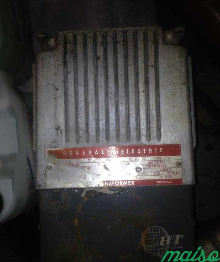 Трансформатор General Electric 480V 9T21B1007 в Москве. Фото 1