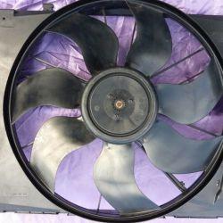 Вентелятор в сборе Mercedes W204 400w A2049060212