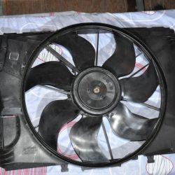 Вентилятор в сборе Mercedes W204 400w A2049060212