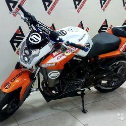 Мотоцикл cfmoto 650 NK оранжевый б/у