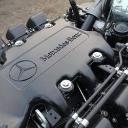 Новый двигатель на Mercedes Actros OM501LA