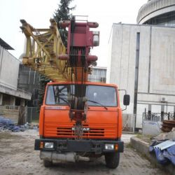 Автокран Галичанин кс-55713 25тонн 2012года