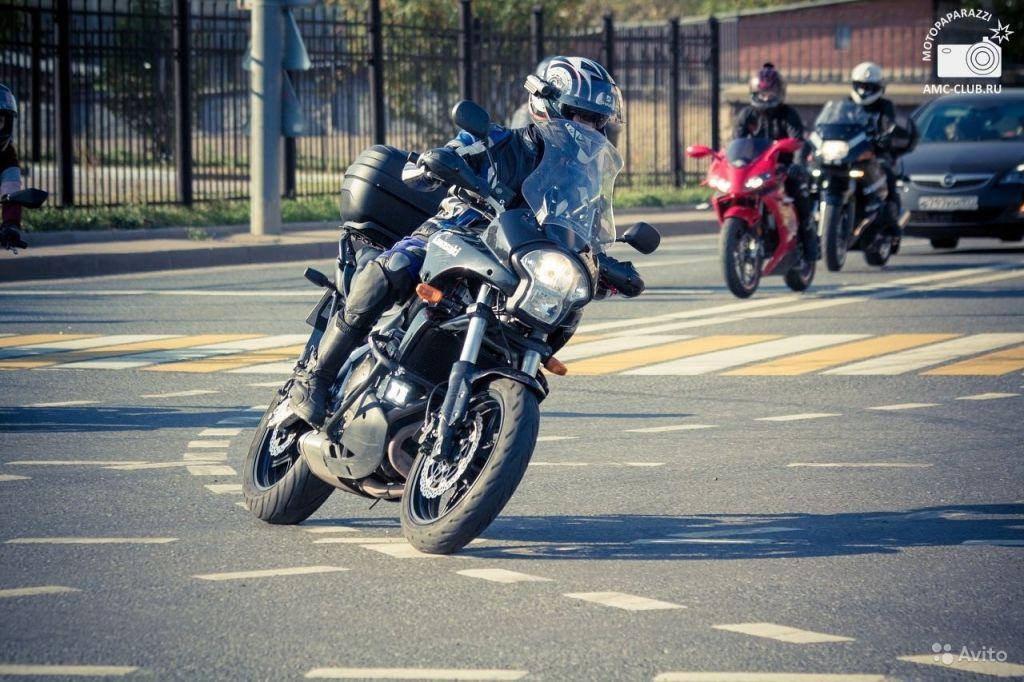 Kawasaki Versys 650 в Москве. Фото 1