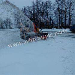 Снегометатель (шнекоротор) на мини-погрузчик