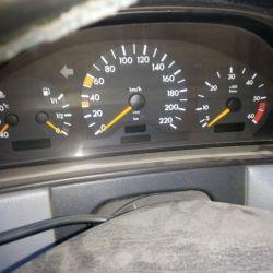 Панель приборов Mercedes w210 мерседес