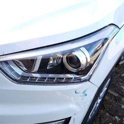 Фара Hyundai Creta линзованная с дхо новая