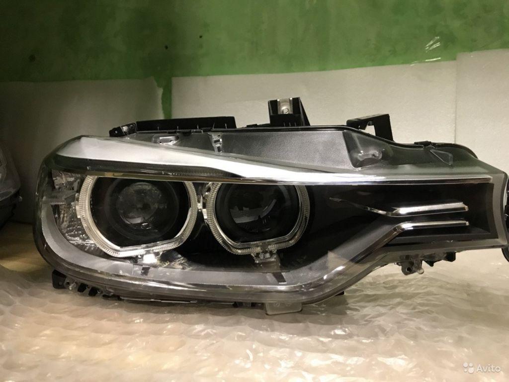 Передняя правая фара на BMW F30 xenon (пр) в Москве. Фото 1