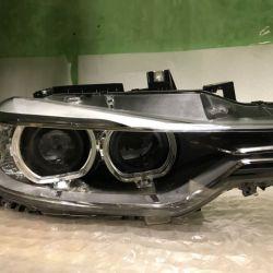 Передняя правая фара на BMW F30 xenon (пр)