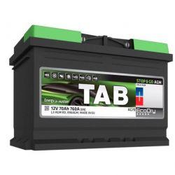 Аккумулятор TAB AGM Start-Stop 70 Ач