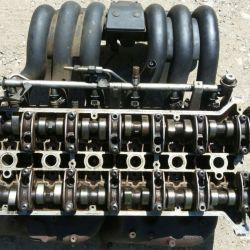 Головка блока 104 двигатель мерседес