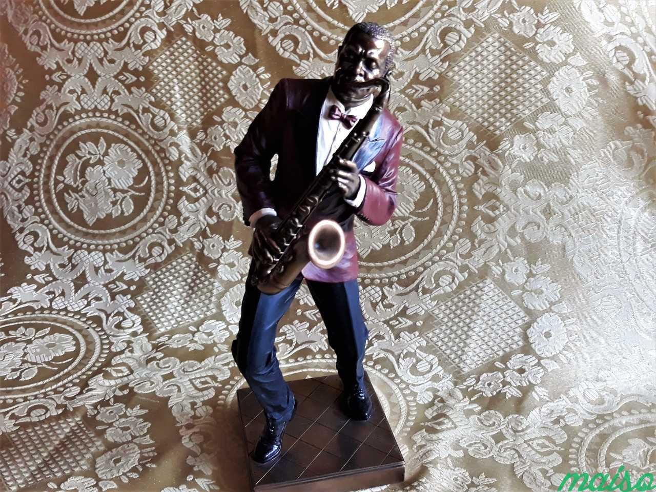Статуэтка Фигурка Музыкант Джаз Veronese в Москве. Фото 2