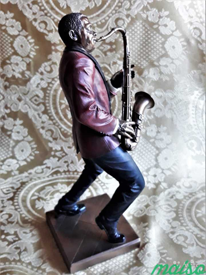 Статуэтка Фигурка Музыкант Джаз Veronese в Москве. Фото 7