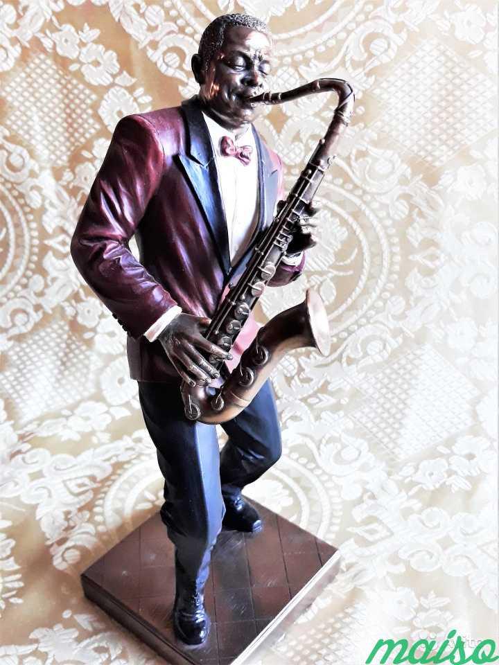 Статуэтка Фигурка Музыкант Джаз Veronese в Москве. Фото 4
