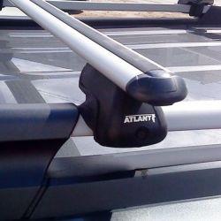 Аэро багажник Атлант на рейлинг BMW X3