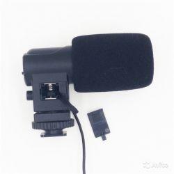 Микрофон Boya BY-V01 направленный, стерео 3.5mm