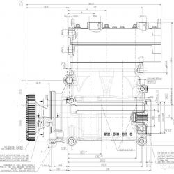 Компрессор 2 цил. DAF XF105