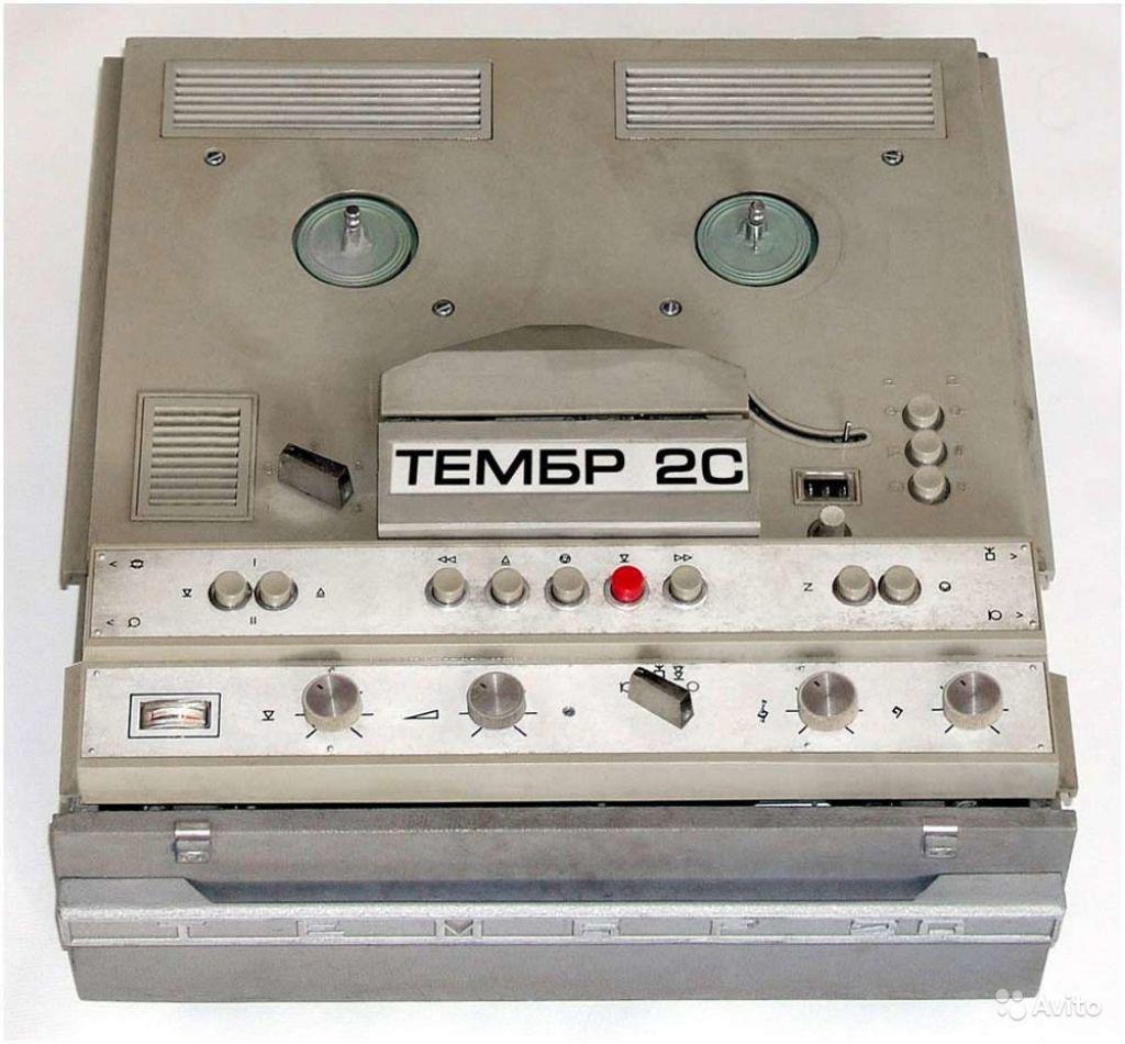 фото катушечного магнитофона тембр могут