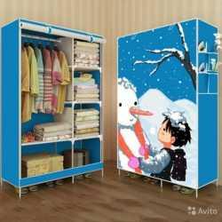Шкаф детский складной тканевый