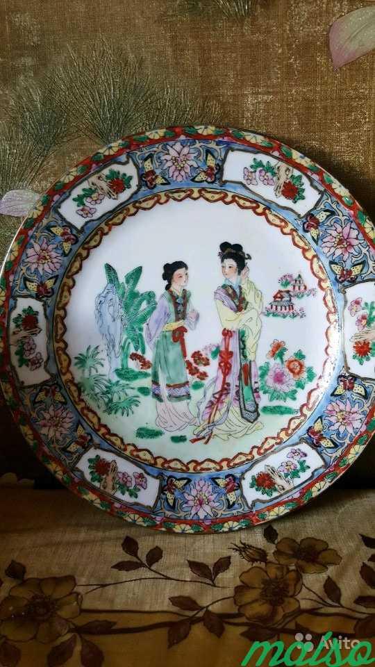 Тарелка декоративная 6 шт. Старый Китай в Москве. Фото 4
