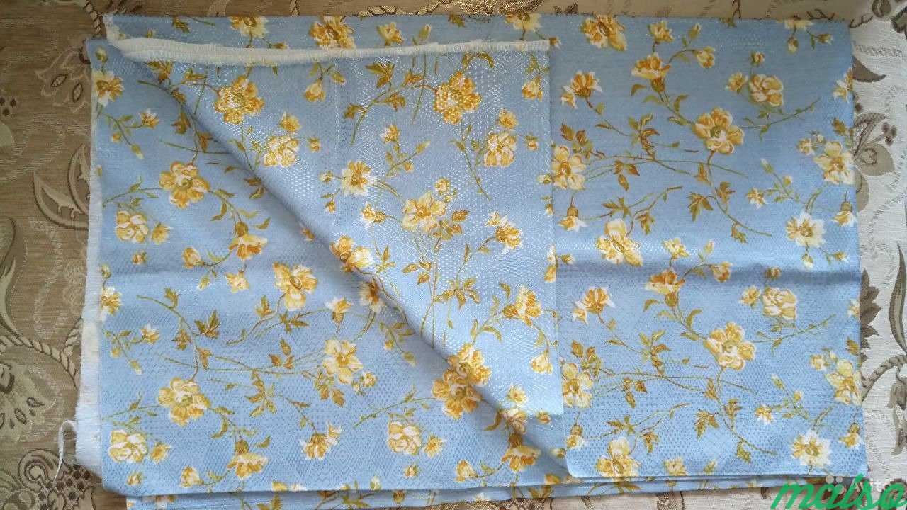 Салфетки отрезы ткани скатерть новые СССР в Москве. Фото 2
