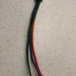 Аудио-видео кабель s-video тюльпан