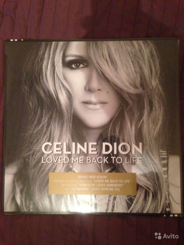 Celine Dion - Loved Me Back To Life LP пластинка в Москве. Фото 1