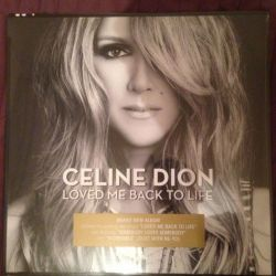 Celine Dion - Loved Me Back To Life LP пластинка