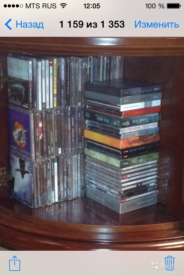 25 фирменных CD рок-музыки(Европа, Штаты, Япония) в Москве. Фото 1