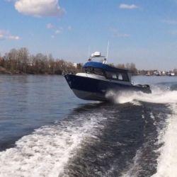 Продается цельносварной алюминиевый катер Ямал-29