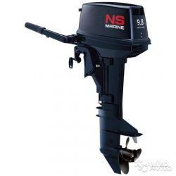 Лодочный мотор Nissan marine NM 9.8 B S В наличии