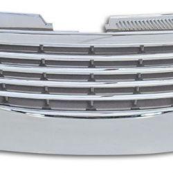 Решетка радиатора Пассат Б6 с 2006г хром полностью