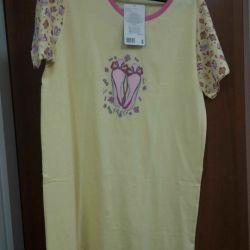 Ночная рубашка из плотного хлопка