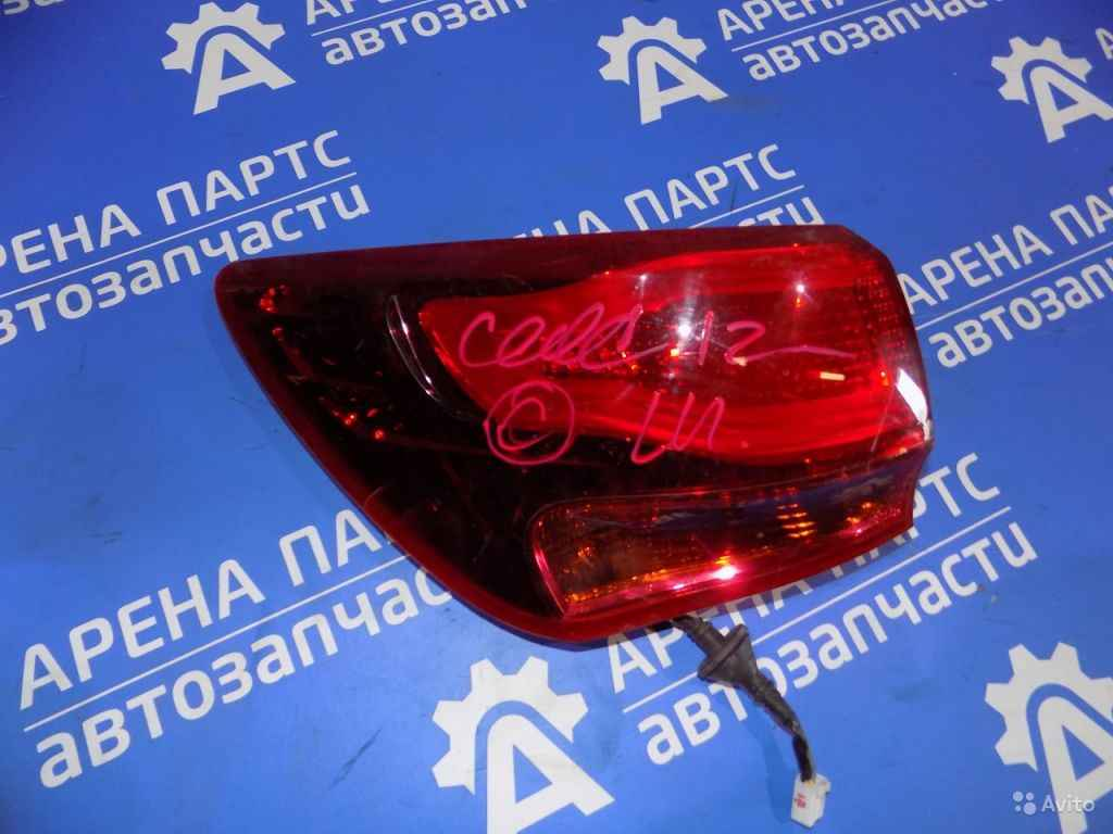 Фонарь наружный левый KIA Ceed c 2012г в Москве. Фото 1