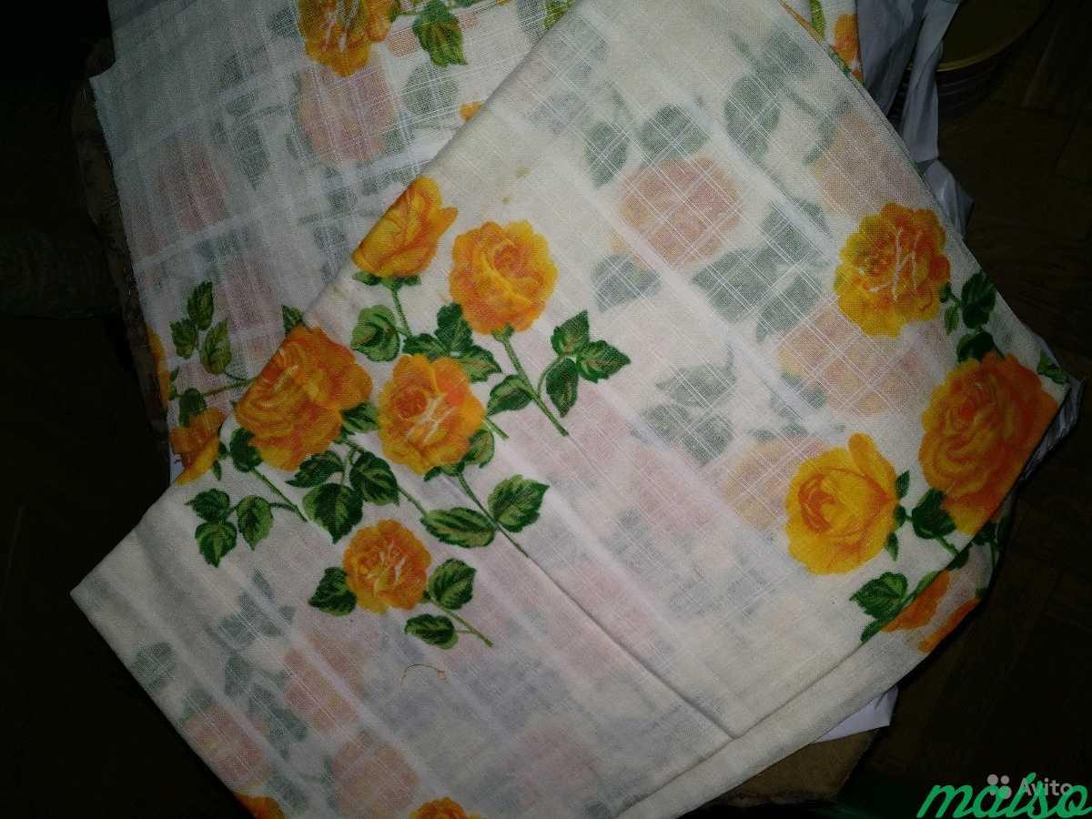 Натуральные ткани СССР для шитья, отрез ткани в Москве. Фото 10